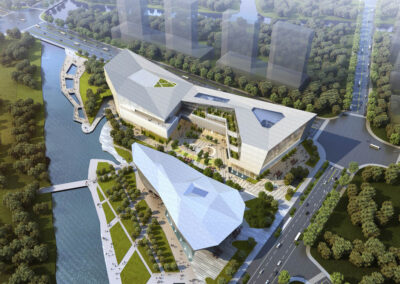 Wenling Cultural Center, China